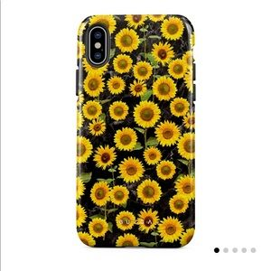 Sunflower Glimmer Tough iPhone XS Max Case